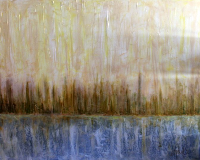 Viewpoints South. Large Commissioned Landscape, for a beautiful Old Cloverdale home. 48 inches x 60 inches.