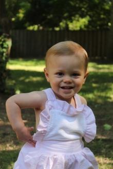 Anne Helen, 19 months