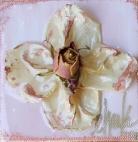 Pink Rose Garden Cross