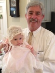 Easter 2013, with her Pops