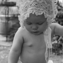 Anne Helen, 8 months