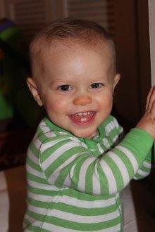 Anne Helen, 15 months old