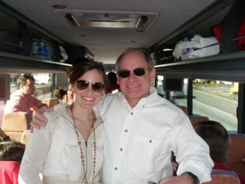 My first National Championship experience, with my Dad. Roll Tide!