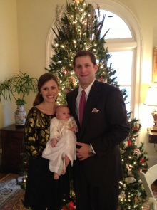 Anne Helen's First Christmas December 25, 2012 2 months old