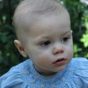 Anne Helen, 14 months old