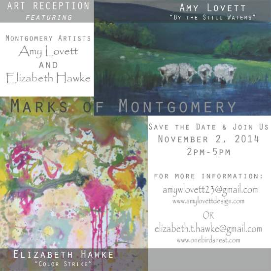 Marks of Montgomery Invitation