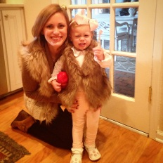 """mommy and me"" furs. EEEK."