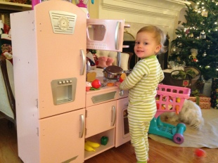 the new play kitchen
