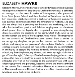 Elizabeth Hawke Highlight