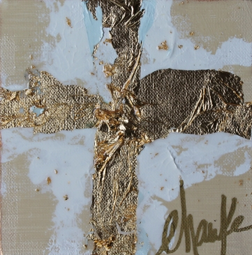 """Golden Cross A"" 6x6"