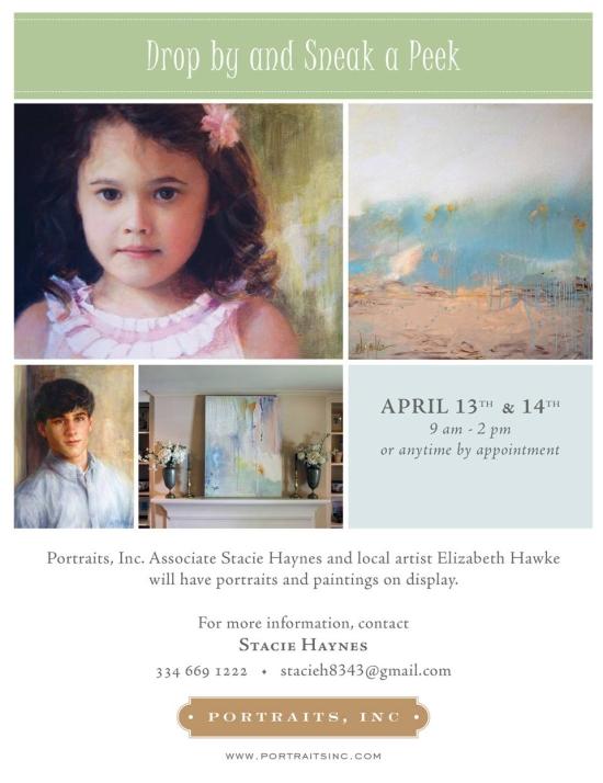 Portraits Inc Art Show no address