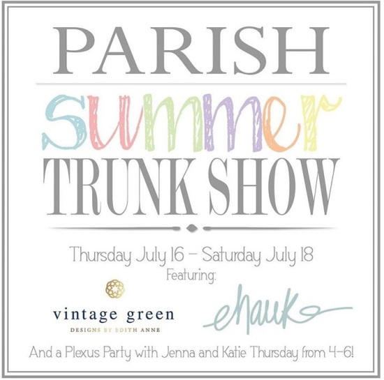 Parish Shoppe Trunk Show-Montgomery