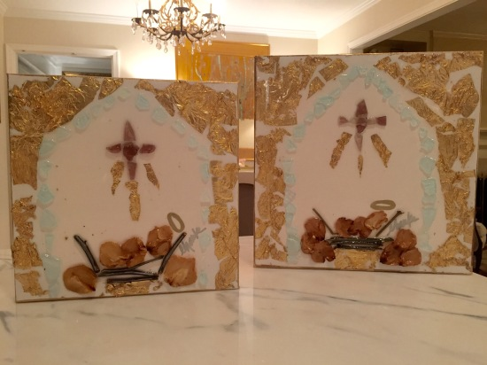 Nativity: 8x8 and 12x12 inches